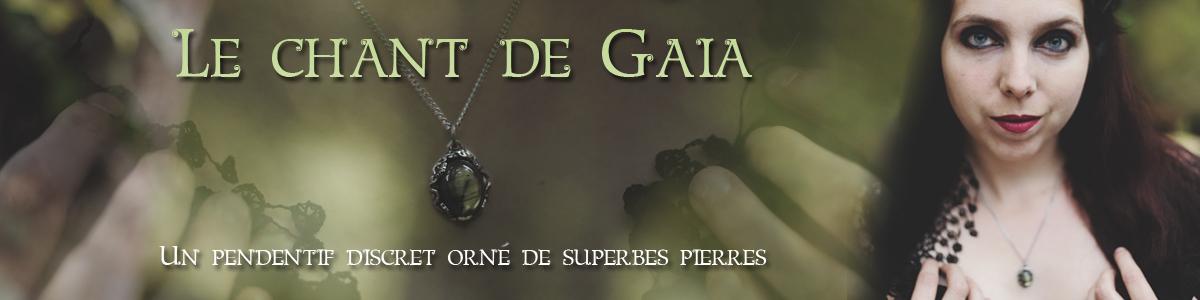 Le pendentif Chant de Gaia