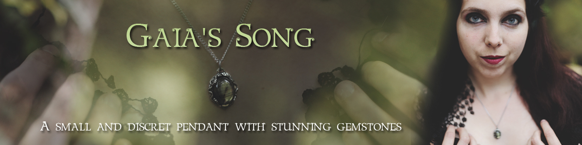 The Gaia's Song pendant